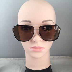 Quay Modern Times 57mm Polarized Sunglasses